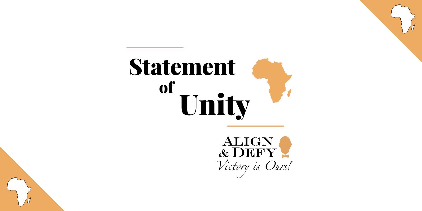 Statement of Unity